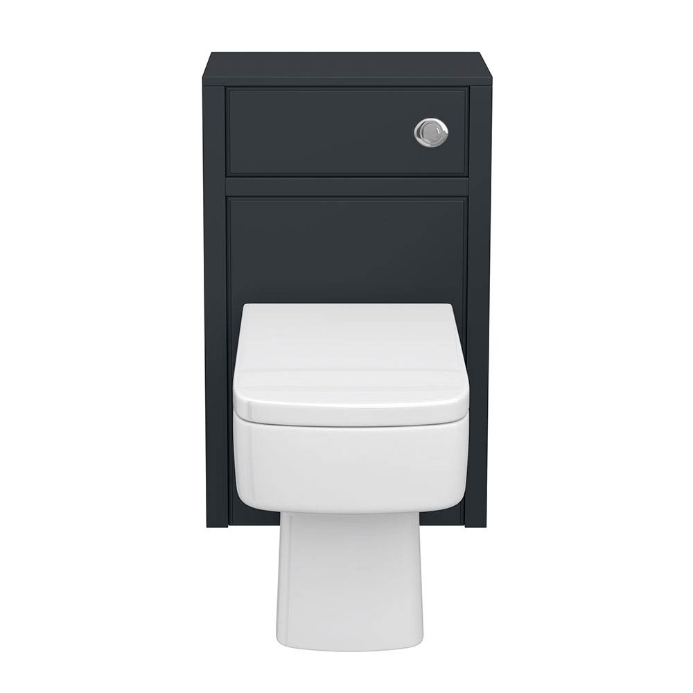 Chatsworth Traditional Graphite Toilet Unit - 500mm Wide  Feature Large Image