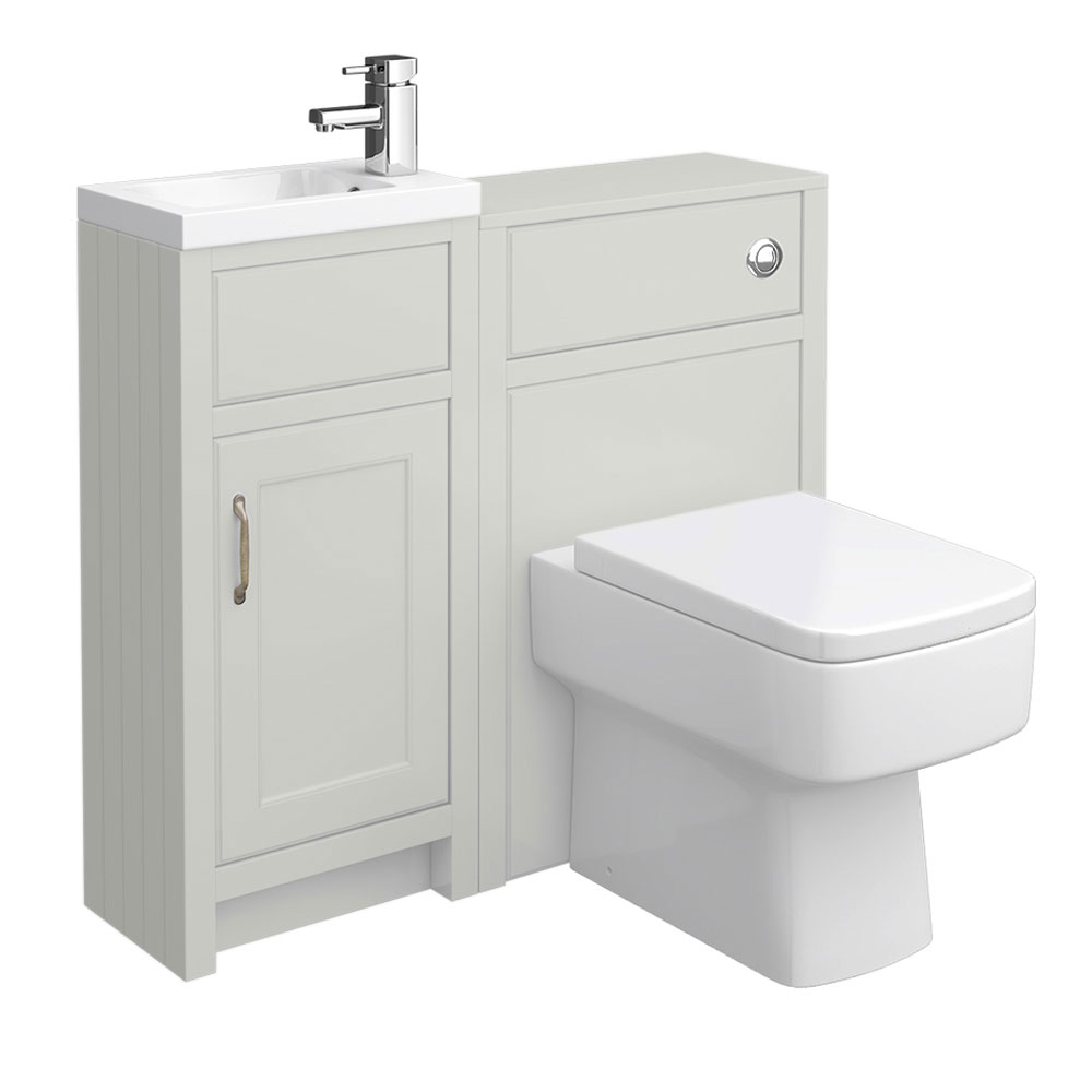 Chatsworth Traditional Grey Cloakroom Suite