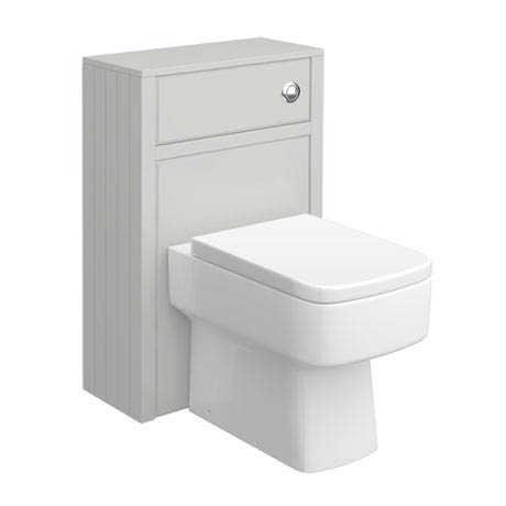 Chatsworth Traditional Grey Toilet Unit - 500mm Wide