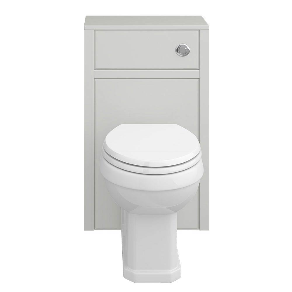 Chatsworth Traditional Grey Toilet Unit + Pan  Standard Large Image