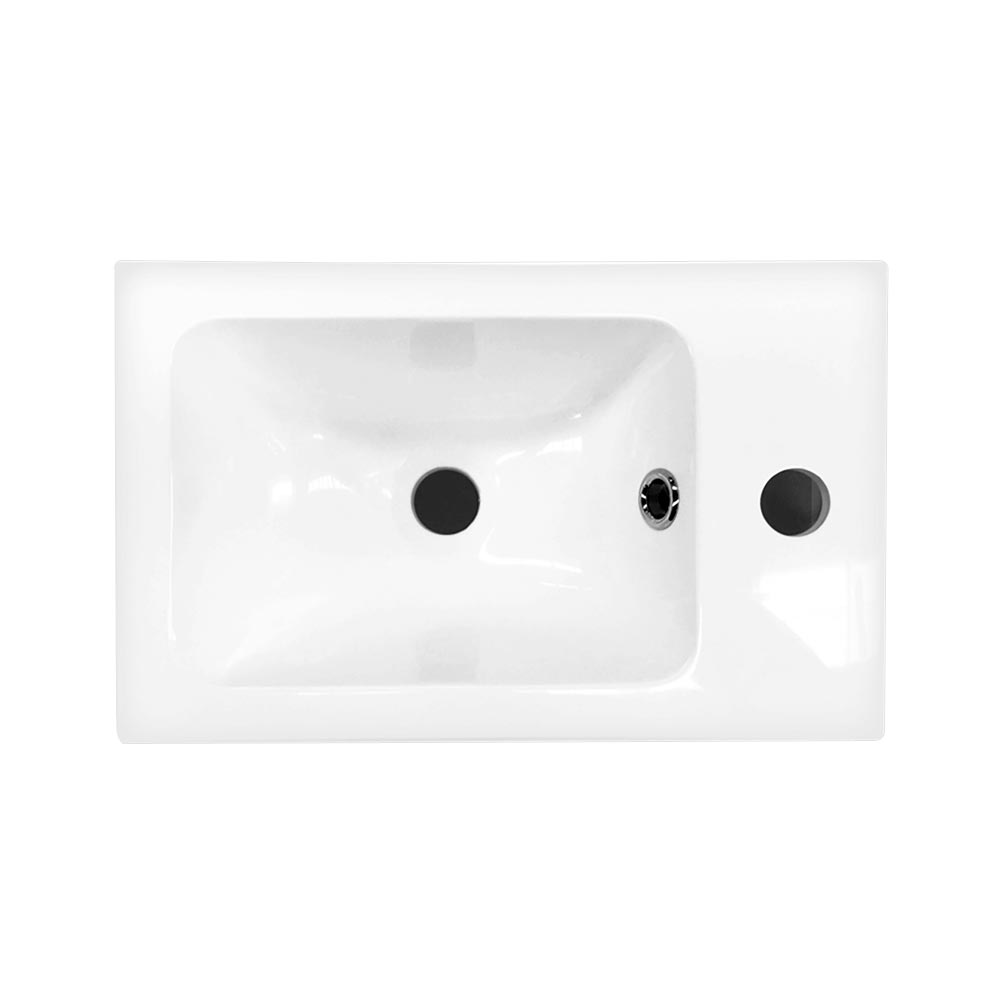 Chatsworth Traditional White Small Vanity - 400mm Wide Standard Large Image