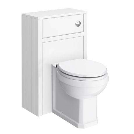 Chatsworth Traditional White Toilet Unit + Pan