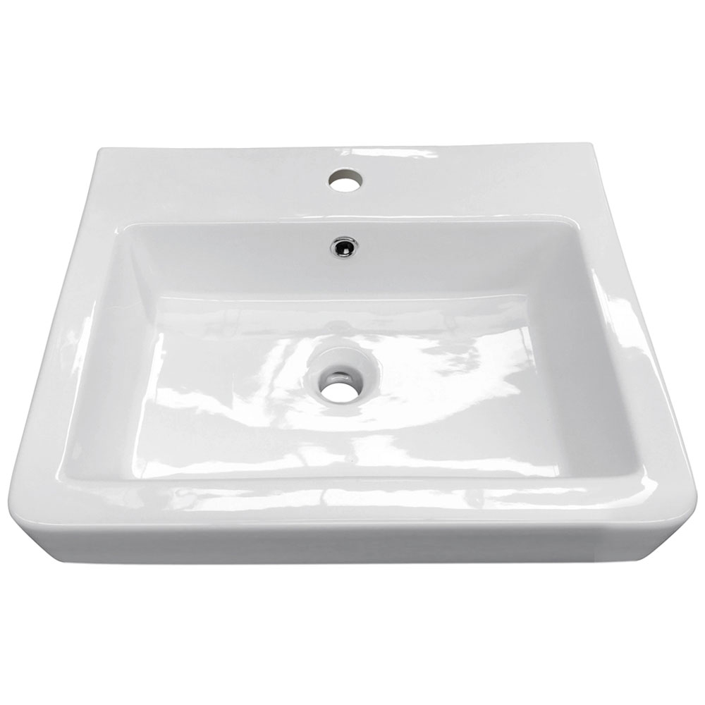 Chatsworth Traditional White Vanity - 560mm Wide Feature Large Image