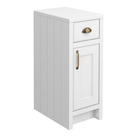 Chatsworth White Cupboard Unit 300mm Wide x 435mm Deep