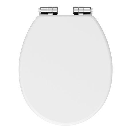 Chatsworth White Toilet Seat