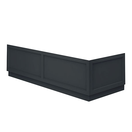 Chatsworth Graphite Traditional Bath Panel Pack
