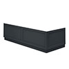 Chatsworth Graphite Traditional Bath Panel Pack profile small image view 1