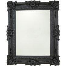 Heritage Chesham Grand Mirror (2240 x 1420mm) - Stone Black Medium Image