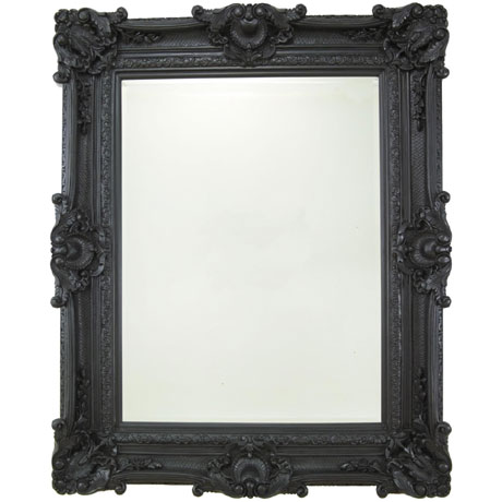 Heritage Chesham Grand Mirror (2240 x 1420mm) - Stone Black