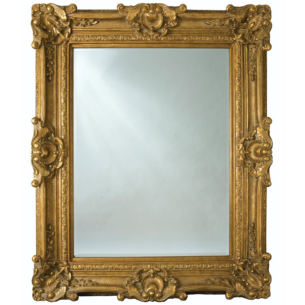 Heritage Chesham Grand Mirror (2240 x 1420mm) - Amber Gold profile large image view 1