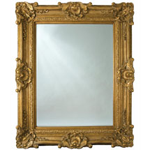 Heritage Chesham Grand Mirror (2240 x 1420mm) - Amber Gold Medium Image