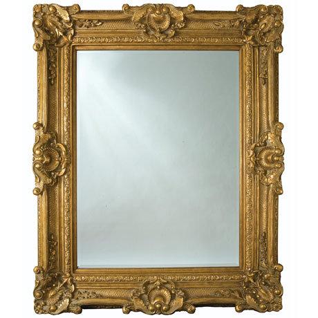 Heritage Chesham Grand Mirror (2240 x 1420mm) - Amber Gold