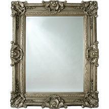 Heritage Chesham Grand Mirror (2240 x 1420mm) - Pewter Silver Medium Image