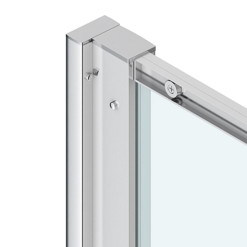 Chrome 20mm Extension Profile Kit - Various Heights profile large image view 1