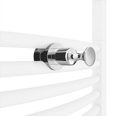 Chrome Robe Hook Attachment for Heated Towel Rails