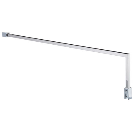Chrome Square Fixed 1000mm Support Arm
