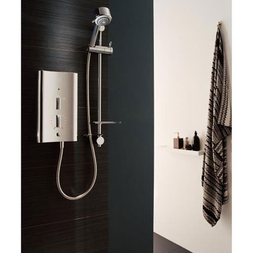 Mira - Escape 9.0kw Thermostatic Electric Shower - Chrome - 1.1563.730 profile large image view 2