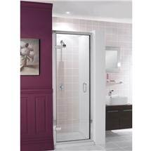 Simpsons - Classic Framed Hinged Shower Door - 3 Size Options Medium Image