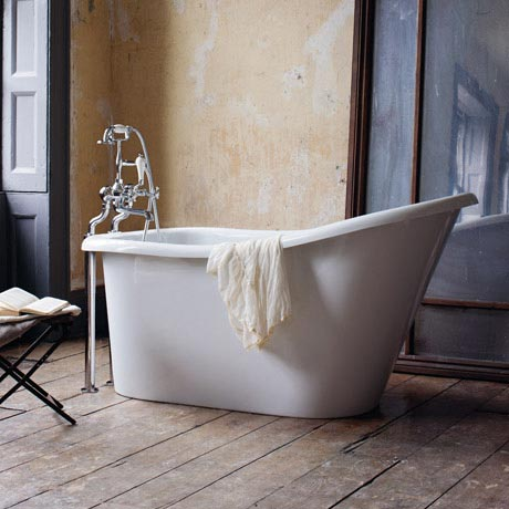 Clearwater - Emperor 1530 x 725 Traditional Freestanding Bath - T13B