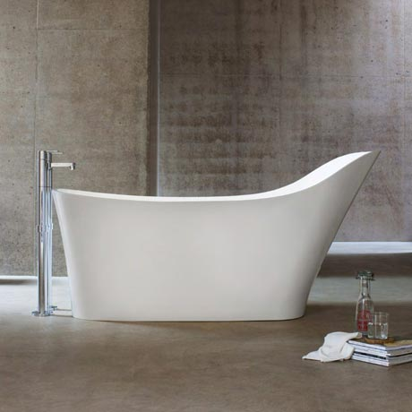 Clearwater - Nebbia Natural Stone Bath - 1600 x 800mm - N14