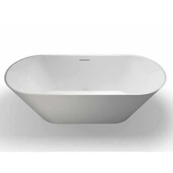 Clearwater - Sontuoso Natural Stone Bath - 1690 x 700mm - N8E profile large image view 3