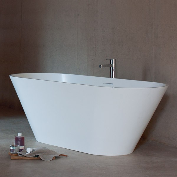 Clearwater - Sontuoso Natural Stone Bath - 1690 x 700mm - N8E profile large image view 1