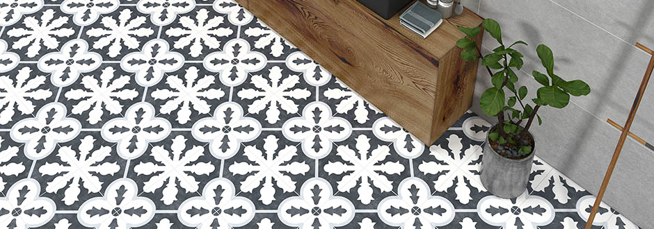 Coleton Patterned Tiles