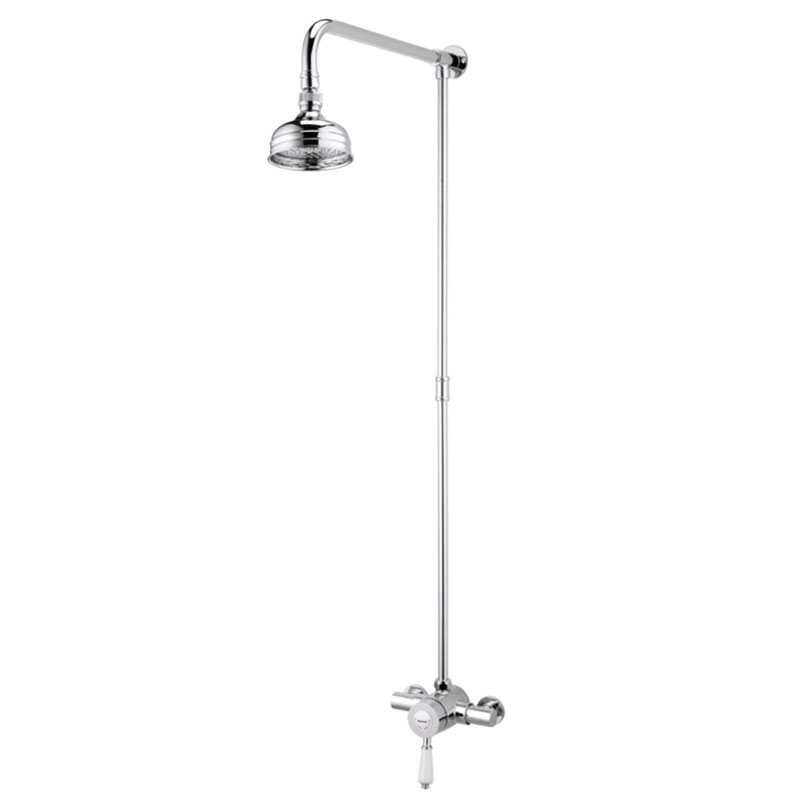 Bristan Colonial2 Thermostatic Shower Valve + Rigid Riser profile large image view 1