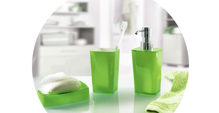 Colourful Bathroom Accessories