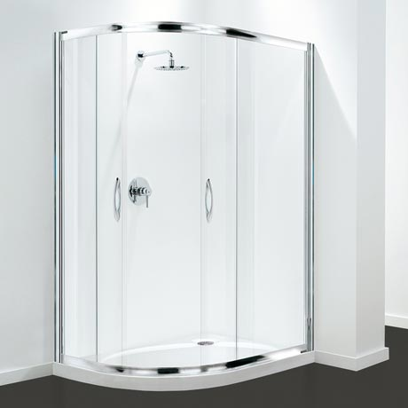 Coram Premier Offset Quadrant Shower Enclosure - Various Size Options