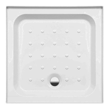 Coram - Universal Square Shower Tray with Upstands & Waste - 3 Size Options