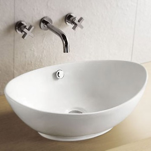 Costa Counter Top Basin - Oval Large Image