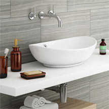 Costa Counter Top Basin - Oval Medium Image