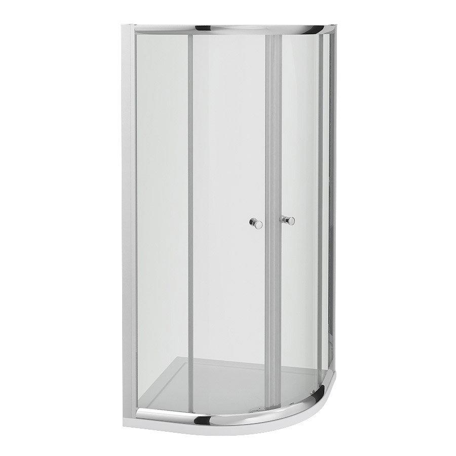Cove Quadrant Shower Enclosure - 2 Size Options Profile Large Image