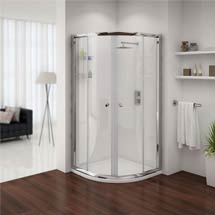 Cove Quadrant Shower Enclosure - 2 Size Options Medium Image