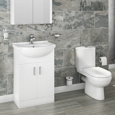 Cove Vanity Unit + Toilet Suite