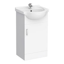 Cove White 450mm Small Vanity Unit Medium Image