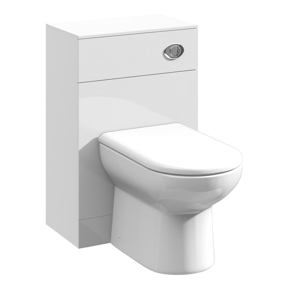 Cove White 500x300mm WC Unit Large Image