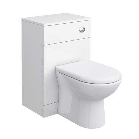 Cove White 500x330mm WC Unit