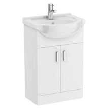 Cove White 550mm Vanity Unit Medium Image