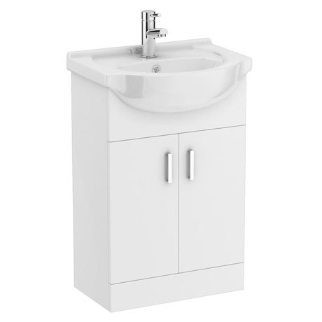 Cove White 550mm Vanity Unit