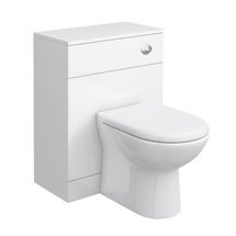 Cove White 600x300mm WC Unit Medium Image