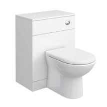 Cove White 600x330mm WC Unit Medium Image
