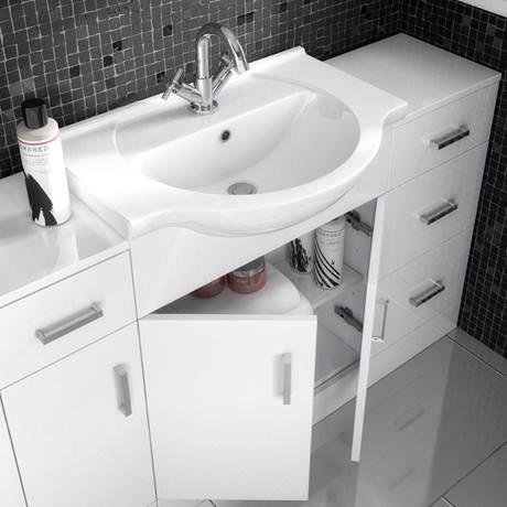Cove White 650mm Vanity Unit - CV650