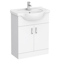 Cove White 650mm Vanity Unit Medium Image
