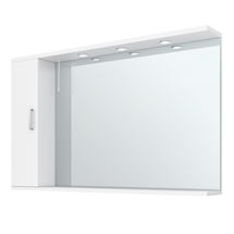 Cove White Large Illuminated Mirror Cabinet (1200mm Wide) Medium Image
