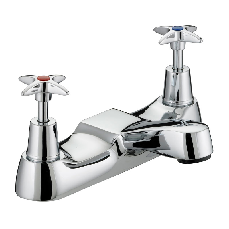 Bristan - Design Utility Crosshead Bath Filler - Chrome - VAX-BF-C Large Image