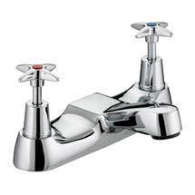 Bristan - Design Utility Crosshead Bath Filler - Chrome - VAX-BF-C Medium Image