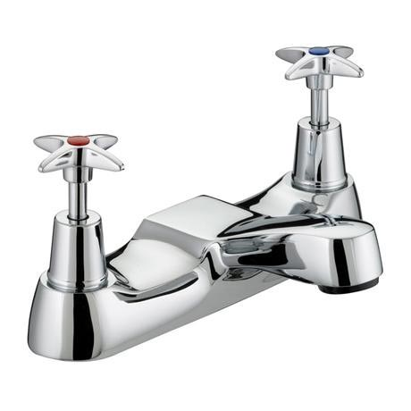 Bristan - Design Utility Crosshead Bath Filler - Chrome - VAX-BF-C