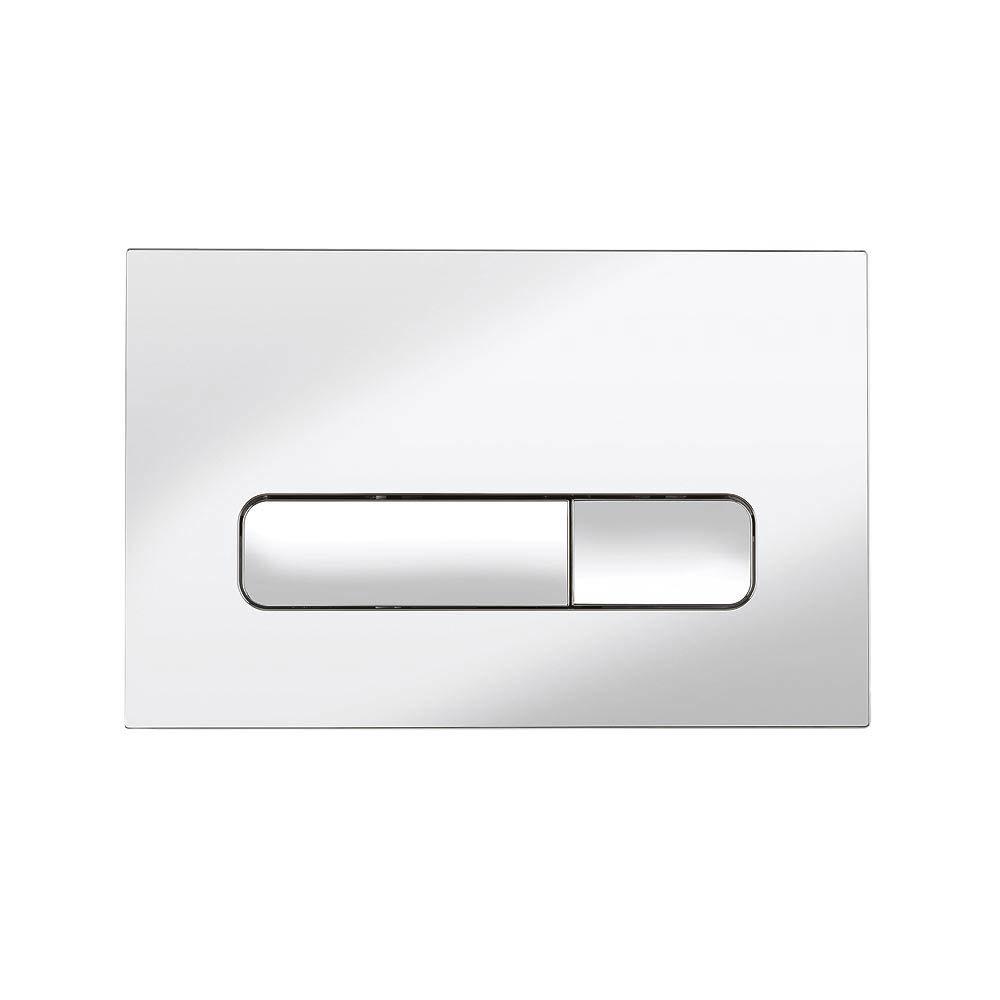 Bauhaus Atoll Chrome Flush Plate - ATFLUSHC Large Image